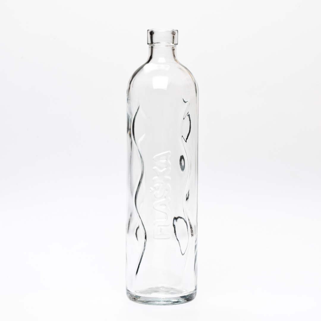 Flaska pure glass bottle